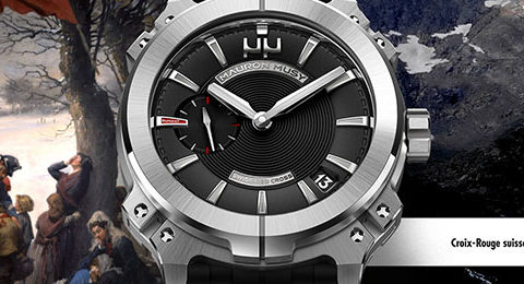 Humanity watch by Mauron Musy