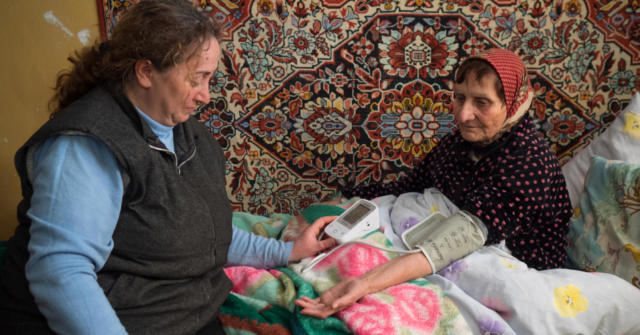 Gohar, potential home helper, Armenia, Winter 2017